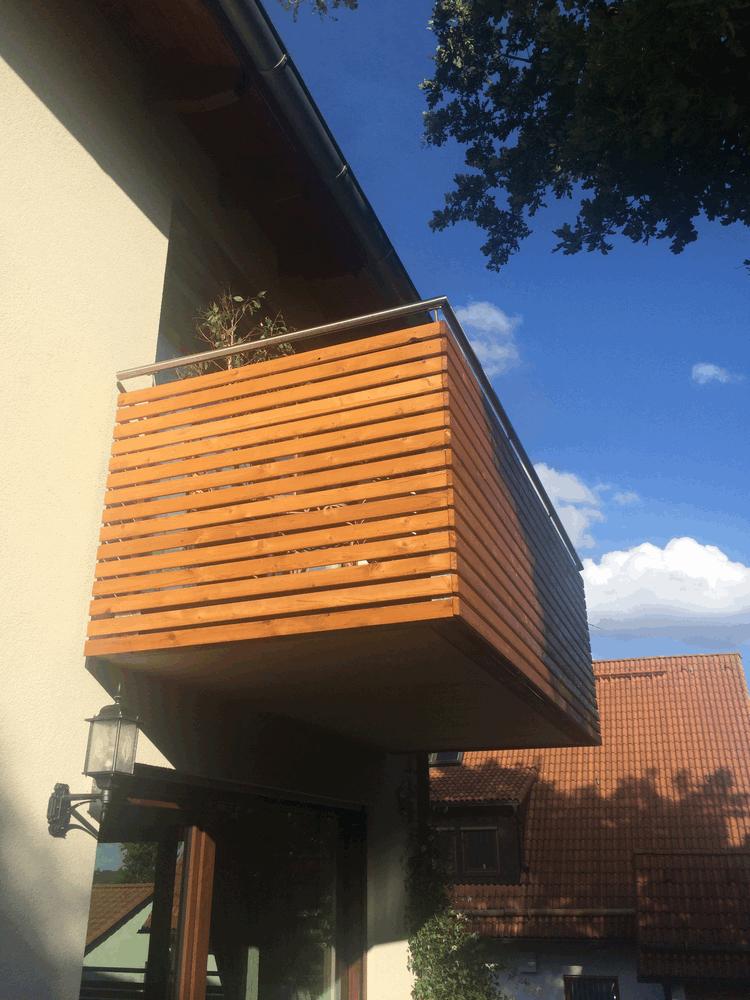 Gut bekannt Balkon bauen – von Balkonträger bis Balkongeländer | Hausbau, ein AU32