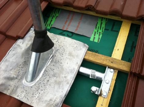 Dachsparrenhalter