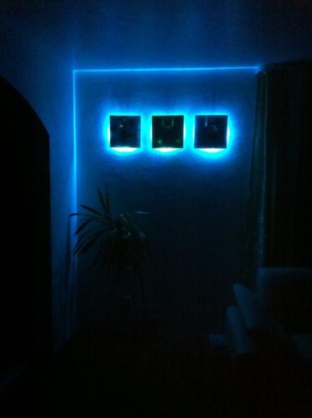 LED Leuchten Blau