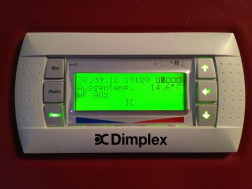 Dimplex LIKI 14TE - Einstellungen der Luftwärmepumpe