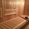 Sauna Rueckenlehne