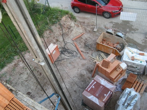 Sicht vom Obergeschoss auf die Strasse