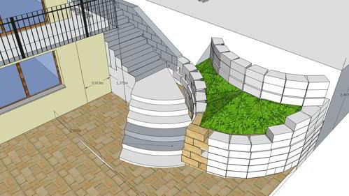 Steinmauer als Hangsicherung - eine Schöne aber teuere Alternative zu Betonhangsicherung