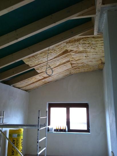 Dachdämmung 2
