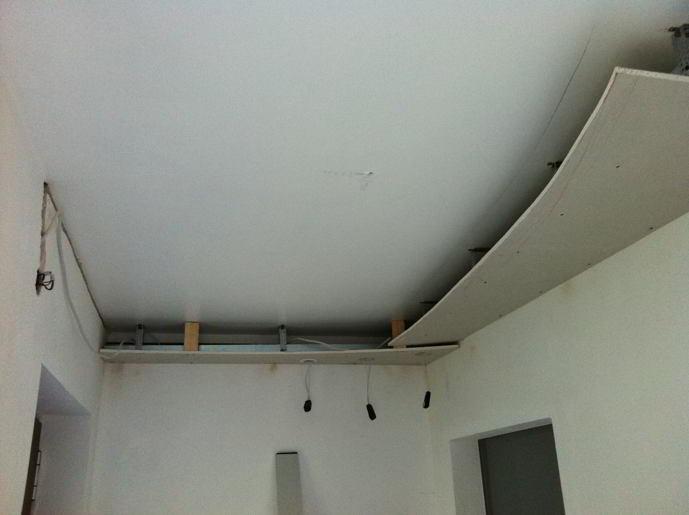 Decke Mit Gipskartonplatten Abhangen