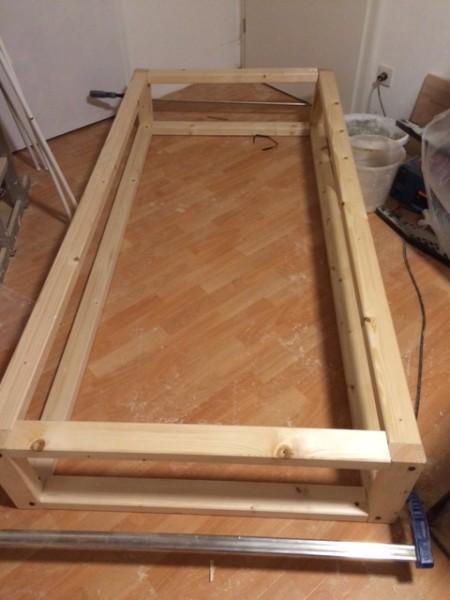 Das Bett - die tragende Konstruktion