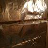 Saunawandaufbau