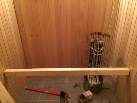saunabank konstruktion. Black Bedroom Furniture Sets. Home Design Ideas