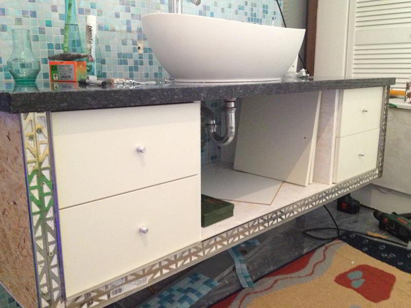 Waschtisch Selber Bauen Anleitung Hausbau Ein Baublog
